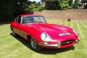 1963 JAGUAR E TYPE 3.8 SERIES 1 MATCHING NUMBERS RED  Photo