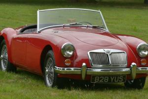 1960 MGA 1600 Mark 1 Roadster, Left hand drive.