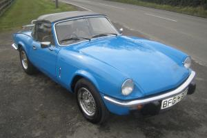 1979 Triumph Spitfirwe 1500 40,000 miles With Full Supporting History SUPERB