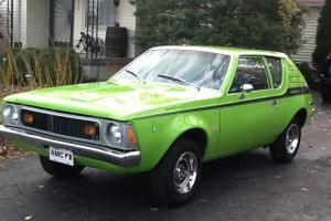 1972 AMC Gremlin V8 2 Door Coupe Bright Green