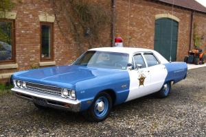 1969 Plymouth Fury Police car