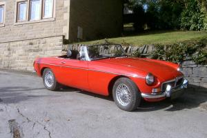 MGB Chrome Bumper Roadster
