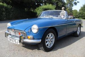 1972 MG Roadster Mod Teal Blue Tax Exempt Taxed and MOT Drive away