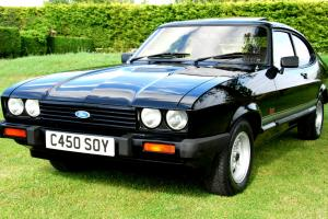 BREATHTAKING FORD CAPRI Mk III 2.0 LASER JUST 4,000 (FOUR THOUSAND) Mls FROM NEW  for Sale