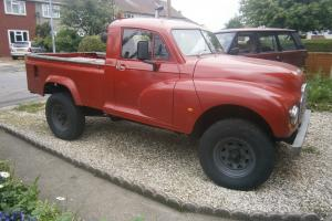 Morris Minor Landrover pickup