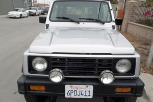 1988 SUZUKI SAMURAI 4X4, RARE JX LOADED WITH REMOVABLE HARDTOP