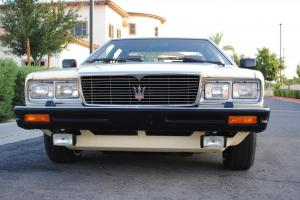 1982 Maserati Quattroporte 3 CA/AZ Owner well documented and in Xclnt condition