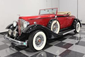 BEAUTIFULLY ASSEMBLED REPLICA BY GIBBON FIBERGLASS, PS, PB, PW, RUMBLE SEAT!!
