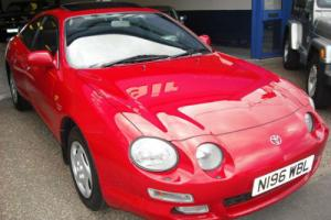 1995 Toyota Celica 1.8 ST 43000 miles 1 lady owner Toyota Service history