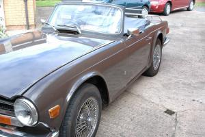 TRIUMPH TR6 1972 (CP) MoT  Photo