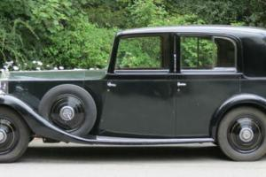 1935 Rolls-Royce 20/25 Park Ward Saloon GSF58  Photo