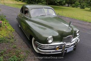 PACKARD 1949 SERIES 22 SEDAN UN-RESTORED ORIGINAL