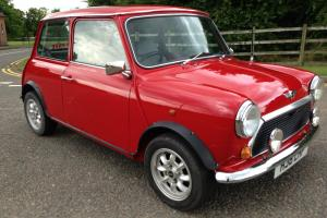 1991 ROVER MINI 1000 CITY E RED  Photo
