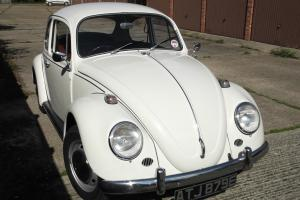 CLASSIC WOLFSBURG BEETLE FINISHED IN WHITE 1967 TOTALLY ORIGINAL