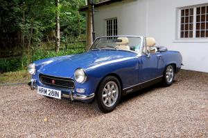 MG Midget sports/convertible Blue eBay Motors #121156264672 Photo