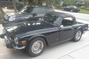 1976 Triumph TR6 Base Convertible 2-Door 2.5L restored condition