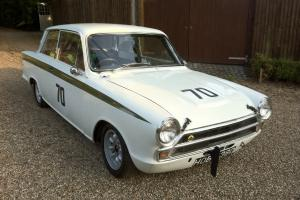 Classic Genuine Lotus Cortina Mk 1 1966 with FIA papers