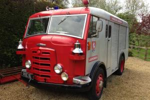 1956 commer karrier fire engine