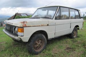 Range Rover 1972 SUFFIX A BARN FIND FOR FULL RESTORATION LOW OWNERS AND MILES