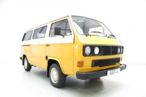A Superbly Styled T25 VW Camper Van Created for Freedom Leisure Outings