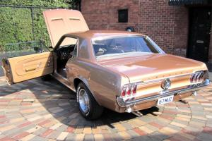 Ford Mustang 1967 2D Hardtop 289 3 SP Automatic 4 7L Carb Burnt Amber in Melbourne, VIC