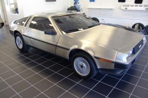 1983 DeLorean DMC-12 5 Speed Manual 2-Door Coupe