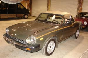 1981 Fiat Spider TURBO-RARE!