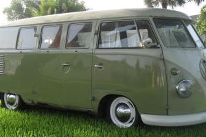 1960 VW Bus Original Paint  Camper very Nice  Excellent Driver