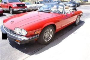 1989 Jaguar XJS 5.3L V12 Convertible Power Top Leather Heated Seats Very Clean! Photo