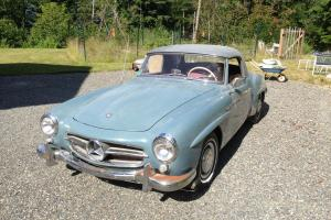 Mercedes Benz 190SL SL Coupe with soft top California title