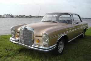 1965 Mercedes Benz 300SE Coupe W112 Manual with Sunroof