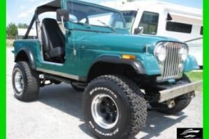 1984 JEEP CJ7 304 V-8 HARTOP AND DOORS NO RUST FULLY RECONDITIONED WE EXPORT