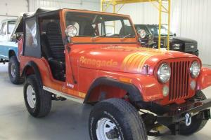 1979 Jeep CJ-5 Renegade original paint and body with SBC V8