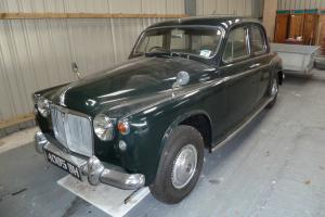 1962 ROVER 95 GREEN, Totally Original Bodywork,
