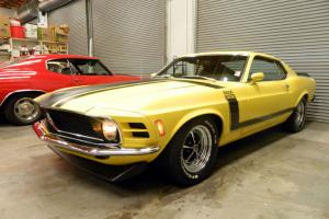 1970 FORD BOSS 302 MUSTANG - Only 34K Actual Miles!!