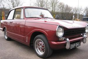 Triumph Herald 13/60 1971 MOT till March 2014 Tax exempt. Fully restored