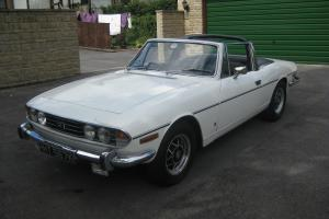 Triumph Stag Manuel with Overdrive 1972 Original Tax Free