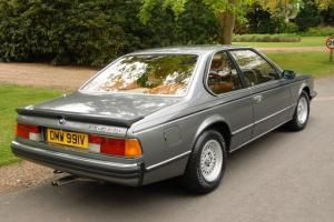 1980 BMW 635CSi in pristine condition
