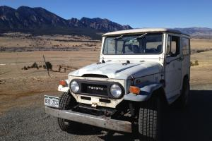 1974 Toyota FJ40 Land Cruiser Daily Driver or Light Restoration Project