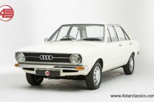 Audi 80 LS Atlas white 1973  Photo