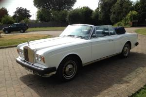 1977 Rolls Royce Corniche 11 Drophead Coupe.  Photo