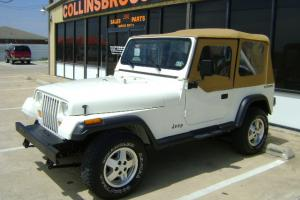 Jeep Wrangler YJ Rare low mileage 4x4