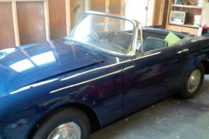 SUNBEAM ALPINE BLUE Mk5 hardtop convertible