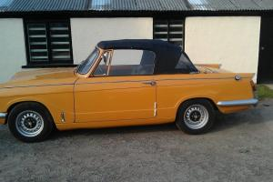 classic triumph vitesse  Photo