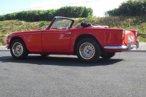 Triumph TR4A IRS Convertible with overdrive, 1965