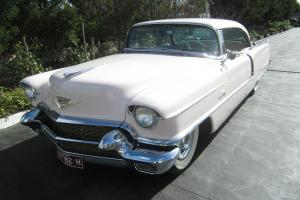 1956 Pink Cadillac Sedan Deville 1 BID Buys YOU This CAR NO Reserve in Melbourne, VIC