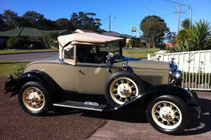 Ford Model A 1930 Roadster Deluxe in Hunter, NSW