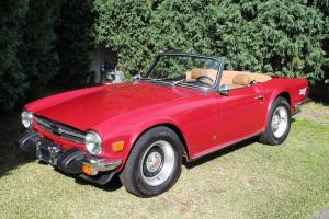 Triumph TR6 Convertable in Hunter, NSW  Photo