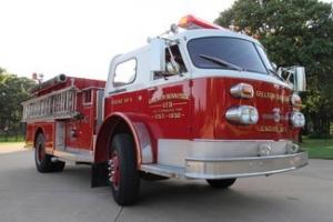American Lafrance 1000 series pumper fire truck, Cummins diesel, PTO Pump, clean Photo