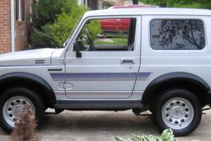 1988 Samurai Tin Top, 4WD, Air Conditioning, one owner, recent service, Runs Exc